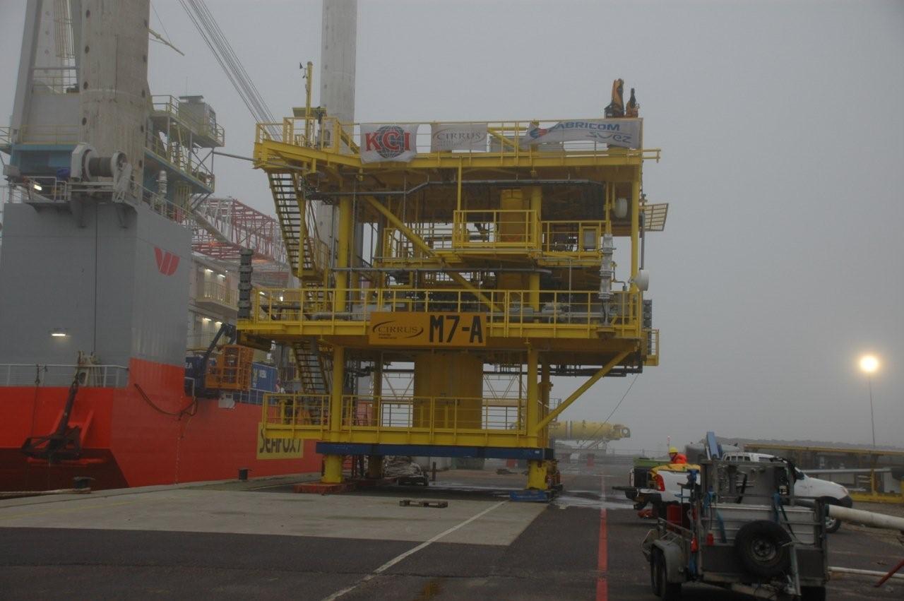 Producten en diensten voor de offshore industrie