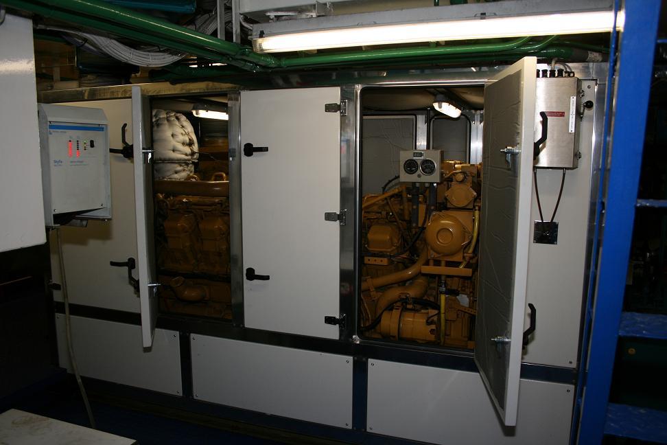 Een superstille omkasting voor een voortstuwingsmotor