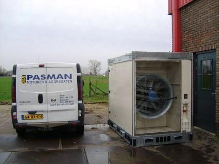 Loadbank voor het testen van generatoren