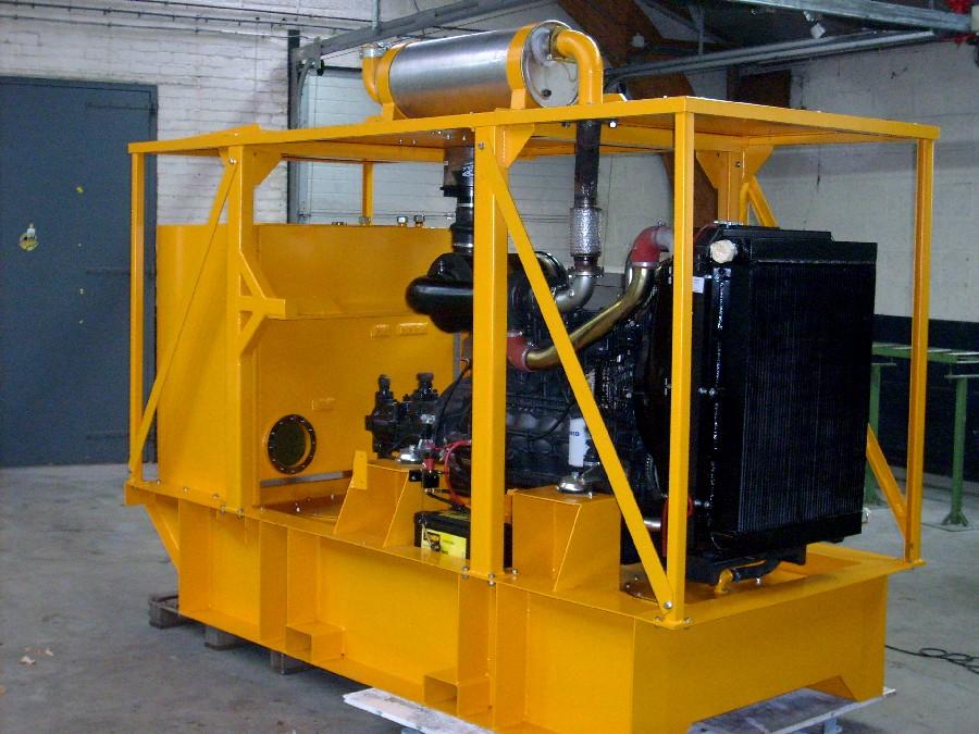 Industriële toepassing motoren Pasman
