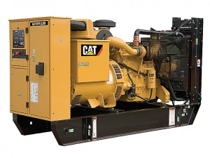 Caterpillar C9 open generator set