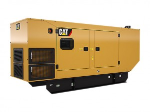 Caterpillar C9 closed generatorset