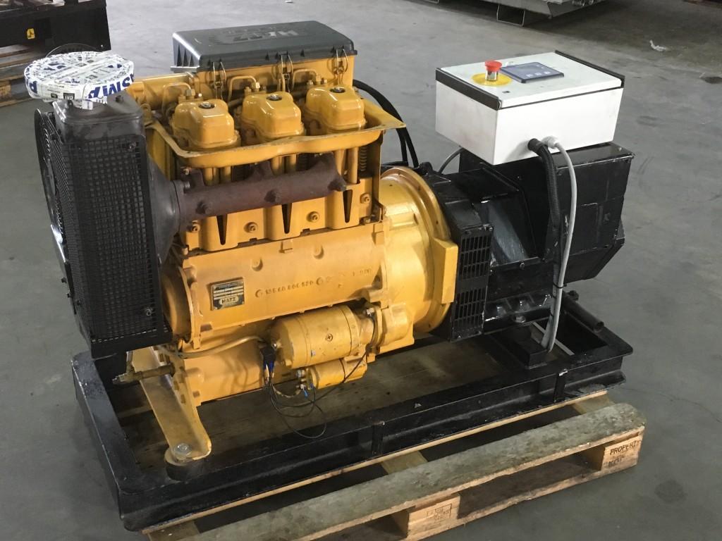 Hatz 3M41 generatorset