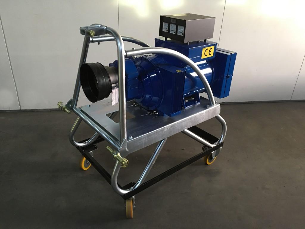 trekkergedreven tractorgedreven PTO generator