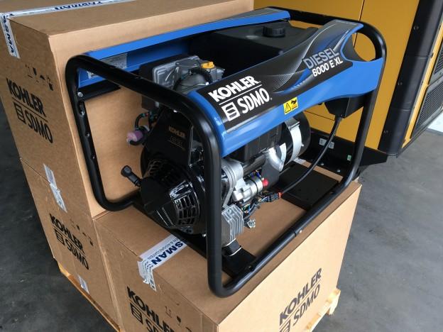 SDMO 6000 E XL generatorset